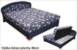 Luxusní postel Hedvika s úložným prostorem