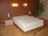 Postel s matrací a roštem LUX