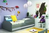 Dětská postel LILI - korpus grafit