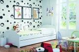 Dětská postel LILI - bílý korpus